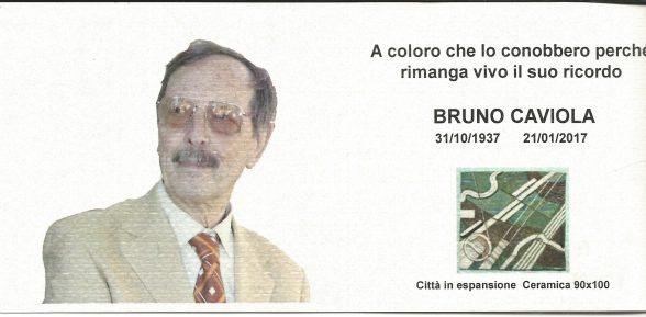 In ricordo di Bruno Caviola